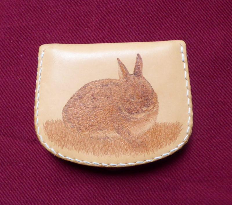 petit porte-monnaie lapin