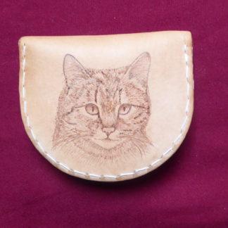 porte-monnaie chat
