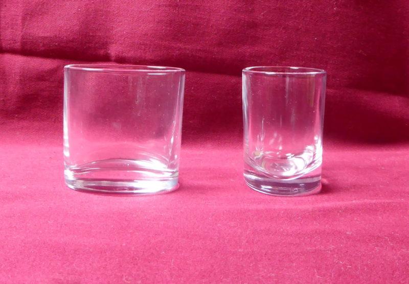 verre eau ellipse