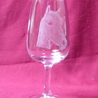 verre viticole 12 cl tête cheval