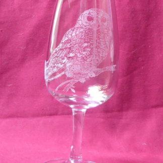 verre à vin 31 cl chouette